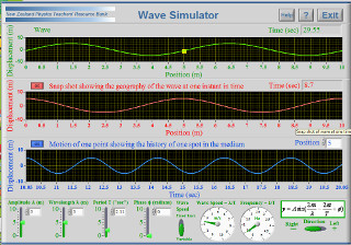 The wave simulator. Click here for a larger image.