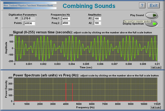 Combining Sounds software