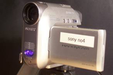 """Some inexpensive video cameras have a """"night mode"""" feature that includes an infrared LED to illuminate scenes at night."""